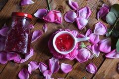 Rose Petal Jam stock foto's