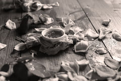 Rose Petal Jam Royalty-vrije Stock Foto