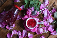 Rose Petal Jam Royalty Free Stock Image