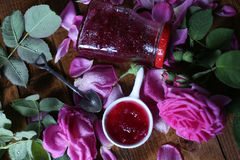Rose Petal Jam Stock Photos