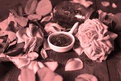 Rose Petal Jam Royalty Free Stock Photography
