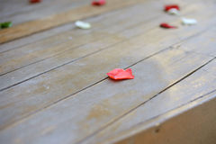 Red Rose Petal Stock Photography