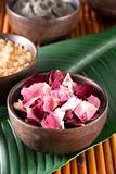 Rose Petals. Dry rose petals, body scrub, clay mud Stock Photos