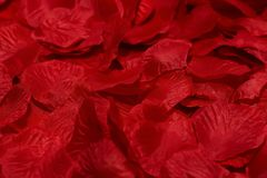 Rose petals. A rose petals artificial background royalty free stock photo