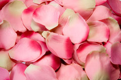 Rose petals (cloth) Royalty Free Stock Image