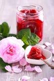 Rose petals homemade jam Royalty Free Stock Photo