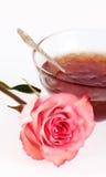 Rose petals jam Stock Photo