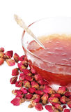 Rose petals jam Royalty Free Stock Images