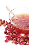 Rose petals jam Royalty Free Stock Images