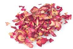 Rose Petals secada fotos de archivo libres de regalías