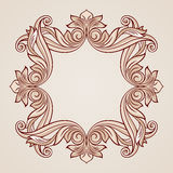 Rose pink floral pattern Stock Images