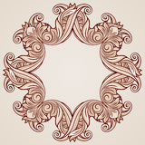 Rose pink floral pattern Royalty Free Stock Images