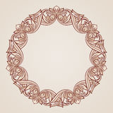 Rose pink floral pattern Royalty Free Stock Photos