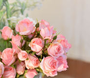 Rose Pink flower. Wedding - Flower beautiful Royalty Free Stock Images