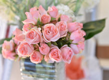 Rose Pink flower. Wedding - Flower beautiful Stock Photos