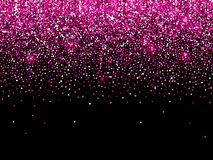 Free Rose Pink Gold Glitter Confetti Sparkle Background Royalty Free Stock Image - 125994736