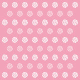 Rose Pink Pattern Background icon great for any use. Vector EPS10. Royalty Free Stock Images