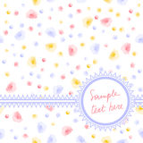 Rose postcard Stock Images