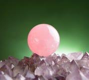 Rose quartz Stock Photo