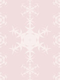 Rose Quartz colored winter holiday background with snowflakes Royalty Free Stock Photos