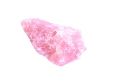 Rose quartz Royalty Free Stock Photography