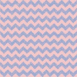 Rose quartz and serenity. Chevron backdrop. Stock Image