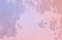 Rose quartz and serenity color old wall texture grunge backgroun Stock Photography