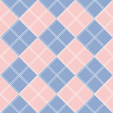 Rose Quartz Serenity Diamond Chessboard-Achtergrond vector illustratie