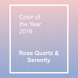 Rose Quartz and Serenity - trendy fashion color of Royalty Free Stock Photo
