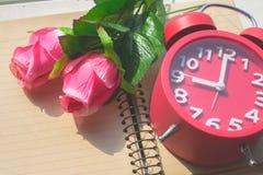 Rose, réveil Photo libre de droits