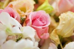 rose różowego bukiet Obraz Royalty Free