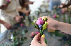 rose ręka Obrazy Stock