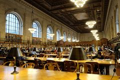 Rose Reading Room photo stock
