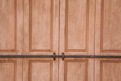 Rose resistió a la puerta Fotografía de archivo libre de regalías