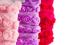 Rose ribbon Stock Image