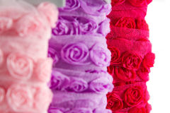 Rose ribbon Royalty Free Stock Photography