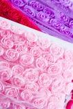 Rose ribbons Stock Image