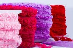 Rose ribbons Royalty Free Stock Image