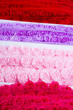 Rose ribbons Stock Photography
