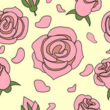 Rose rosa Immagini Stock