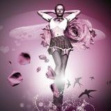 Rose rosada Fotografía de archivo