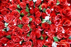 Rose rosse Fotografie Stock