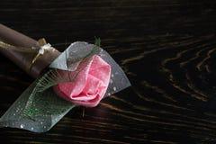 Rose rouge Photos stock