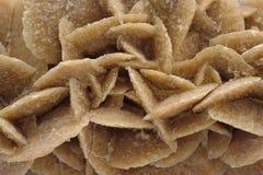 rose sandtextur för gypsum Arkivfoto