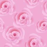 Rose sans couture Photos libres de droits