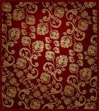 Or rose sans joint et rouge de configuration illustration stock