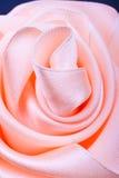 rose satäng för kulör persika Arkivbild
