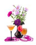 rose scharlakansrött för prydnadar Arkivbilder