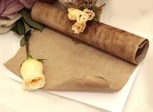 rose scroll Fotografering för Bildbyråer