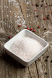 Rose sea salt Royalty Free Stock Photography